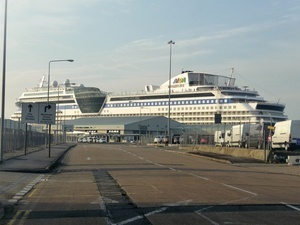 City cruise terminal port of southampton ocean world travel look for signage for dock gate 10 city terminal is just through there train the closest station is southampton m4hsunfo